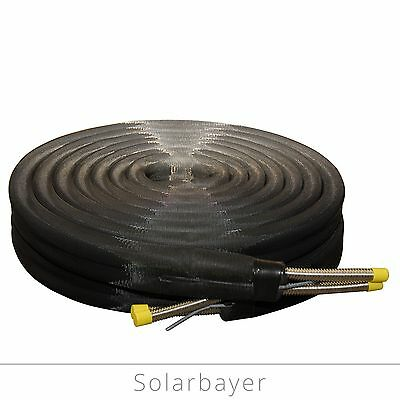 Solar Cable Pipe solar-wellrohr Stainless Steel Corrugated DN 16/DN 20