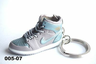 outlet store de22f c30cc madxo 3D mini sneaker keychain Air Jordan 1 Retro AJ 1 6 action figure 05