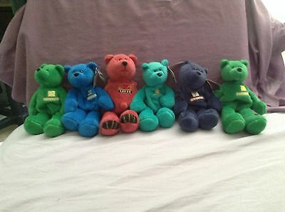 Sports Beanie Babies Lot of 6 Sold as lot or alone. See description for details,