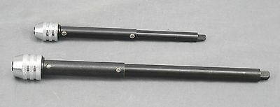 2 Piece Schroeder Tap Wrench Extension kit - 10 inch & 7 inch -Made in Germany