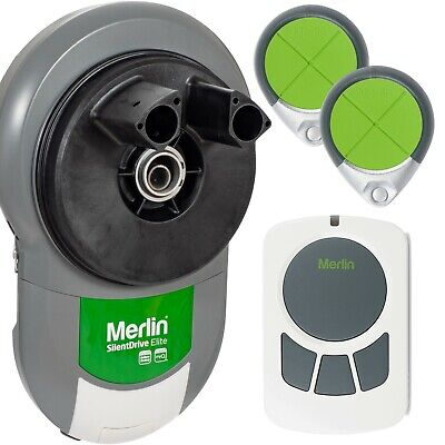 Garage Roller Door Opener Motor Merlin MR850EVO Silent Drive Automatic
