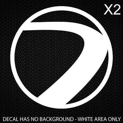Dye Paintball Decal 40x40mm [1 3/5x1 3/5in] [Set of 2]