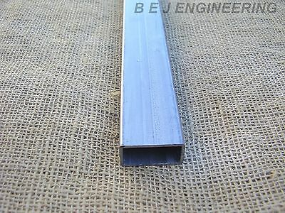 Mild Steel Box ERW 40mm x 20mm x 2mm-1000mm lg - Rectangular Tube