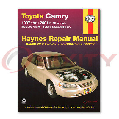 toyota avalon haynes repair manual xls shop service garage book zs rh picclick com 2000 Toyota Avalon 2001 toyota avalon owners manual free