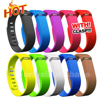 S Hot for Fitbit Flex Wristband Wireless Bracelet Replacement Large Band