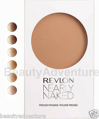 Revlon Nearly Naked Pressed Powder Makeup Foundation ** Choose Your Shade **