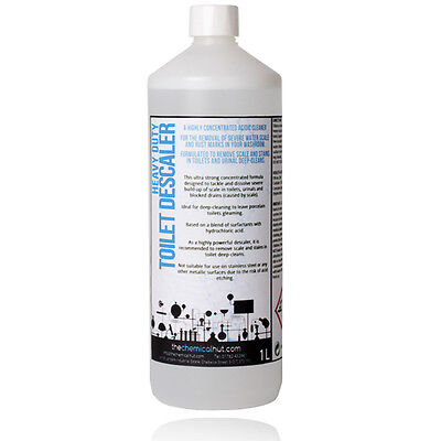 Deep Clean Heavy Duty Toilet Cleaner & Descaler Removes Severe Stains & Scale 1L