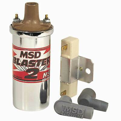 MSD Race/Rally Chrome Blaster 2 High Power Ignition Coil And Ballast 8200