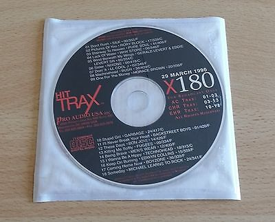 Hit Trax (Bush, Bon Jovi, Backstreet Boys) - Cd Promo Compilation