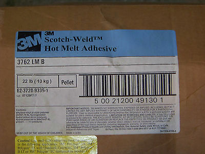 3M  Scotch-Weld Hot Melt Adhesive 3762LMB Pellet Glue