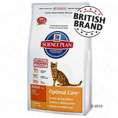 Hill's Science Plan Adult Cat Optimal Care - Chicken - Best prices!