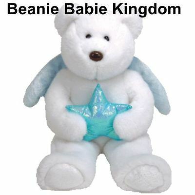 "Ty  Beanie Buddy * STAR *  Teddy Bear Buddie 14"" Blue Star"