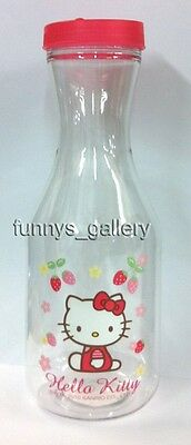 Official Sanrio Hello Kitty Plastic Drink / Water Bottle