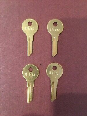 STEELCASE KEYS ( FR or XF ) MASTER AND LOCK CORE REMOVAL KEYS - HERMAN MILLER