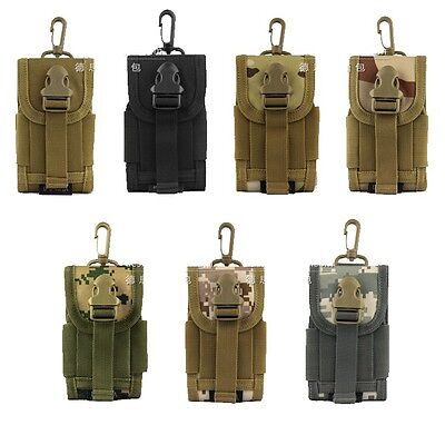 MOLLE Universal Army Camo Bag for Phone Belt Loop Hook Cover Holster Pouch Case