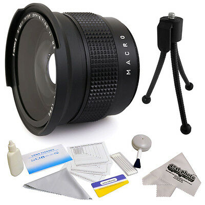 0.35x HD² Fisheye Panoramic Macro Lens for Canon EF-S 55-250mm f/4-5.6 IS STM