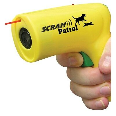 3 Scram Patrol Ultra Sonic Animal Chaser Stops Dog Attack Jogger Bike Safety Pet