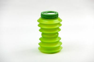 'Green' Ohyo Collapsible Drinks Water Bottle from Aquatina Dragons Den