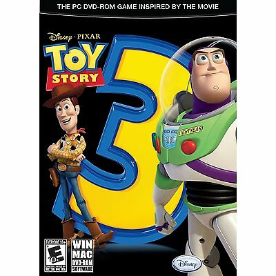 Toy Story 3: The Video Game (PC, 2010) Disney Game Inspired By The Movie NEW!!!
