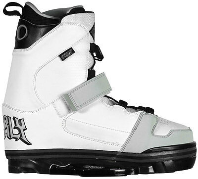 Byerly Onset Hyperlite Wakeboard Wake Boot Binding - Size 8-9 - White - New!!!