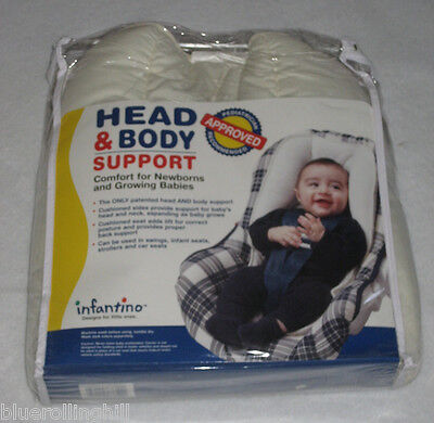 Infantino Baby Head & Body Support & Shoppiing Cart Safety Seat, Brand NEW