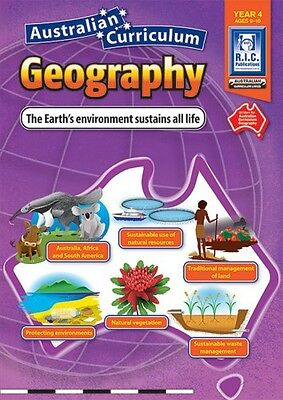 Year 4 Earth's Environment Sustains All Life Aust Curr Geography BNew Teacher