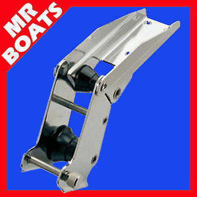 ANCHOR / BOW EXTRA LARGE HINGED PIVOTING ROLLER 316 Marine Stainless Steel ✱NEW✱
