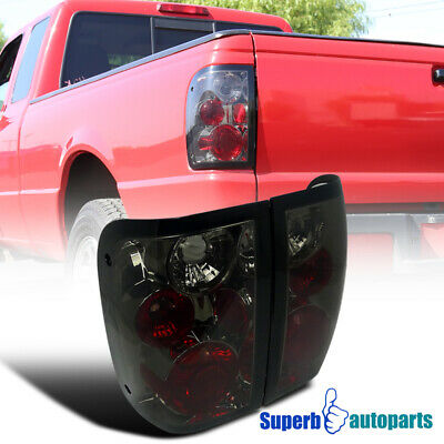 2001-2005 Ford Ranger Replacement Tail Lights Brake Lamps Smoke