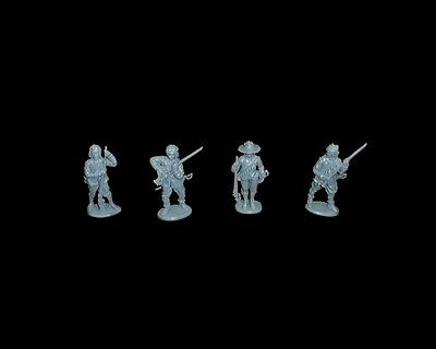 A Call to Arms Series 3 English Civil War Royalist Musketeers 16 troops in 4