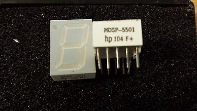 LOT OF 4 NEW HDSP5501 HP 104 G-  7 SEGMENT DISPLAYS  (a4)