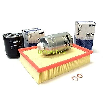 Land Rover Discovery 1 300Tdi Service Filter Kit, Mahle Oil & Fuel Filters Set