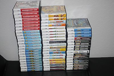 Nintendo DS Original Replacement Case ONLY * NO GAMES * Lots to Choose From