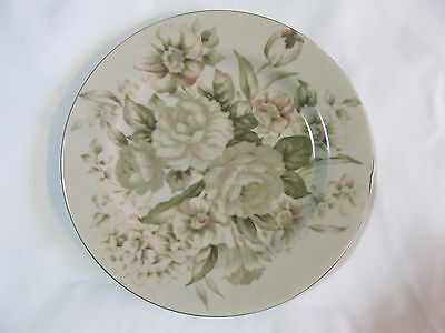 PTS International Interiors Antique Rose Stoneware Salad Plate Replacment 8.25""