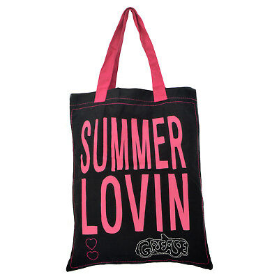 Grease Bag For Life. Classic Musical Pink Shopper Tote Eco 70s 80s Gift for Her
