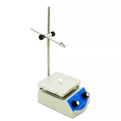 Lab Hot Plate with Magnetic Stirrer - Dual Controls - Fast shipping!
