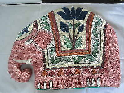 Hand Knit Elephant Kitchen Appliance Cover