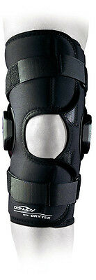 Donjoy Deluxe Hinged Medial Lateral Wraparound or Popliteal Knee Brace Support