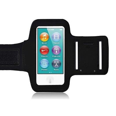 SPORTS WORKOUT ARMBAND GYM RUNNING JOGGING CASE STRAP for iPOD NANO 7 7G 7TH GEN