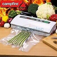 Vacuum Sealing Sealer Machine Food Storage Packaging System Cryovac Campfire