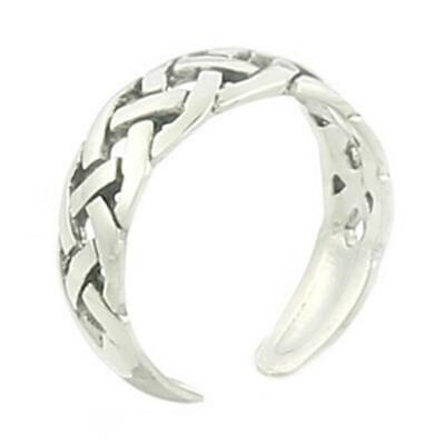 Bijoux, montres Toe Rings Sterling Silver 925 Adjustable
