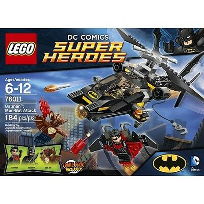 LEGO® Super Heroes Batman™: Man-Bat Attack 76011