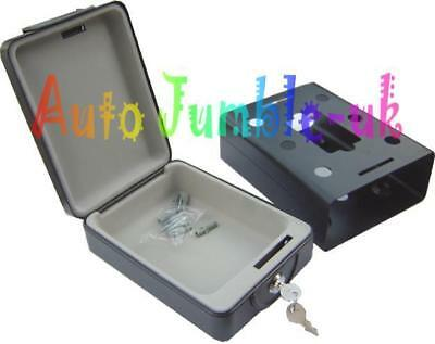 Travel safe compact for car caravan motorhome home taxi valuables locking lock
