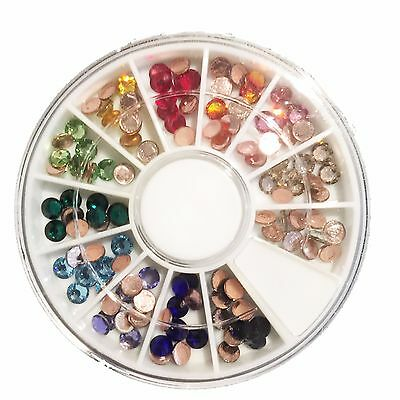 SWAROVSKI HOT FIX Crystal Compact ss16, 4mm, 120 crystals in Rainbow colours