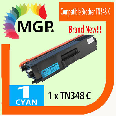High yield 1 Compatible Cyan toner for Brother TN348 MFC9460CDN HL4570CDW
