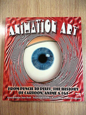 Animation Art,From Pencil to Pixel,History of Cartoon,Anime,2004 (INGLES)