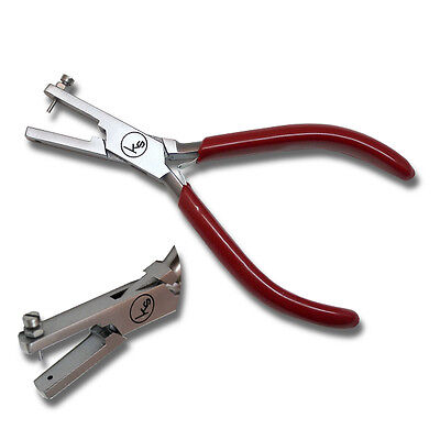 Kent 1.5mm Punch Hole Pliers for Soft Metals, Plastics and Leather