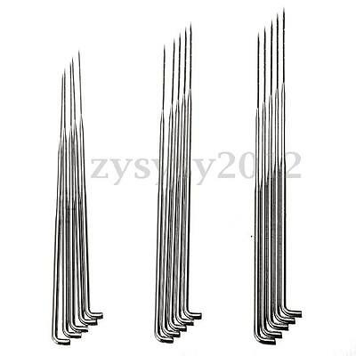 3 Sizes 5Pcs DIY Wool Craft Felting Needles Hand Felt Tools Coarse Medium Thin