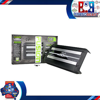 Fusion Performance Series Pf-4004 2400w 4 Channel Car Audio Amplifier Amp + Kit