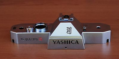 Yashica Tl Electro X Top Plate. Genuine But Used Spare Part.