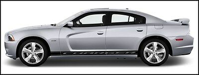 DODGE CHARGER 2006-2014 Side Stripe Kit Choice Of Color Decal